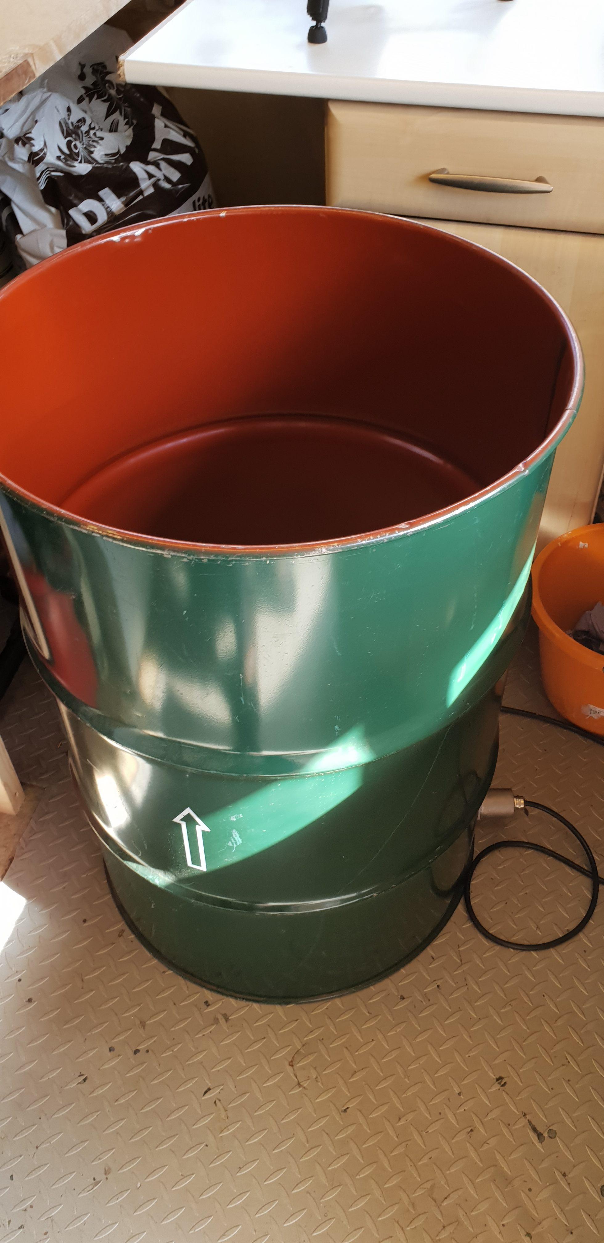 Homemade Mushroom Steriliser | Homemade Bubba Barrel | Archer's Mushrooms