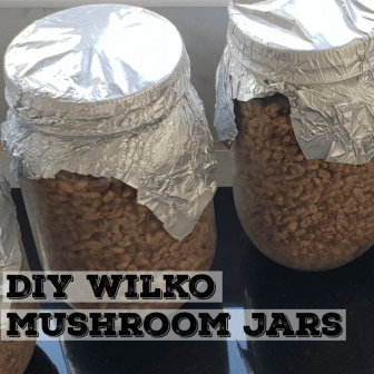 Mason Jars From Wilko Logo | Archer's Mushrooms Blog About Using Wilko Jars To Innoculate Mushroom Grain