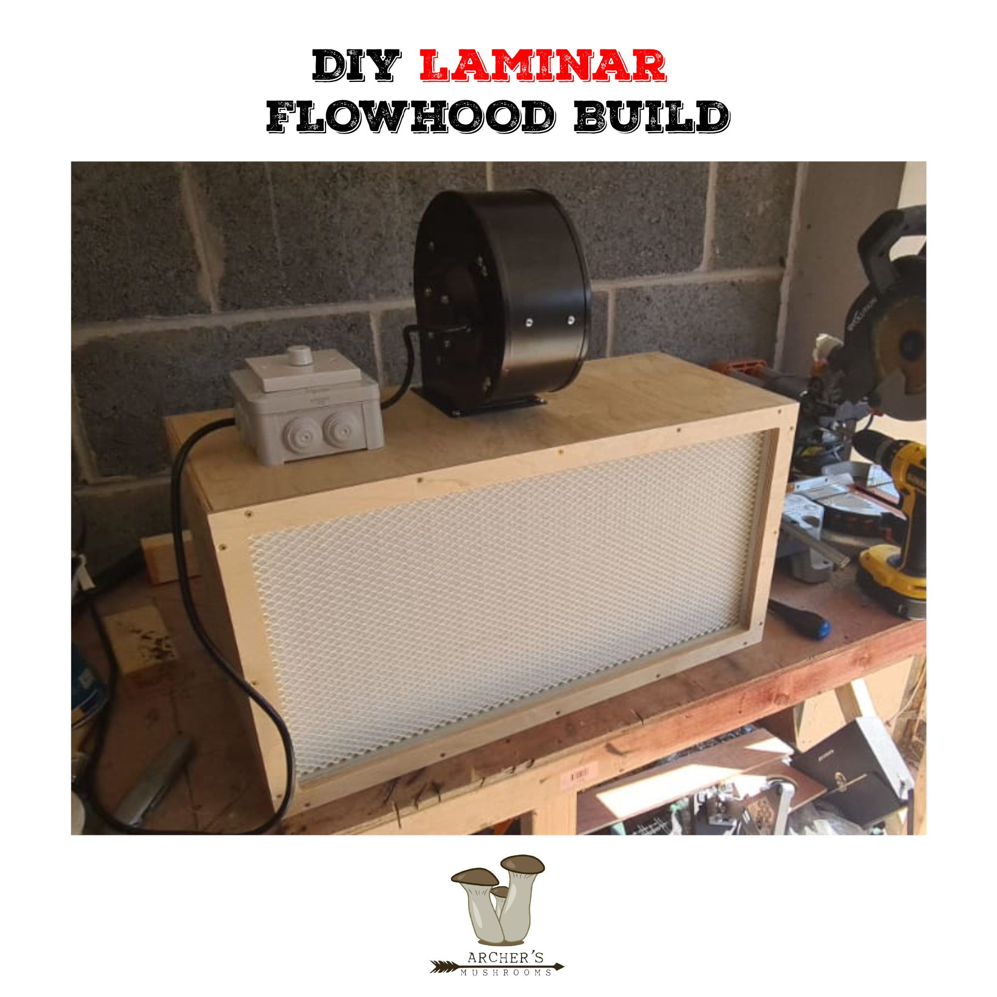 FFU UK | Laminar Flow Hood UK | How To Make A Laminar Flow Hood | DIY Laminar Flow Hood | Mushroom Growing | Mushroom Blogs | Mushroom Growing | Mushroom Tips | Mushroom Business