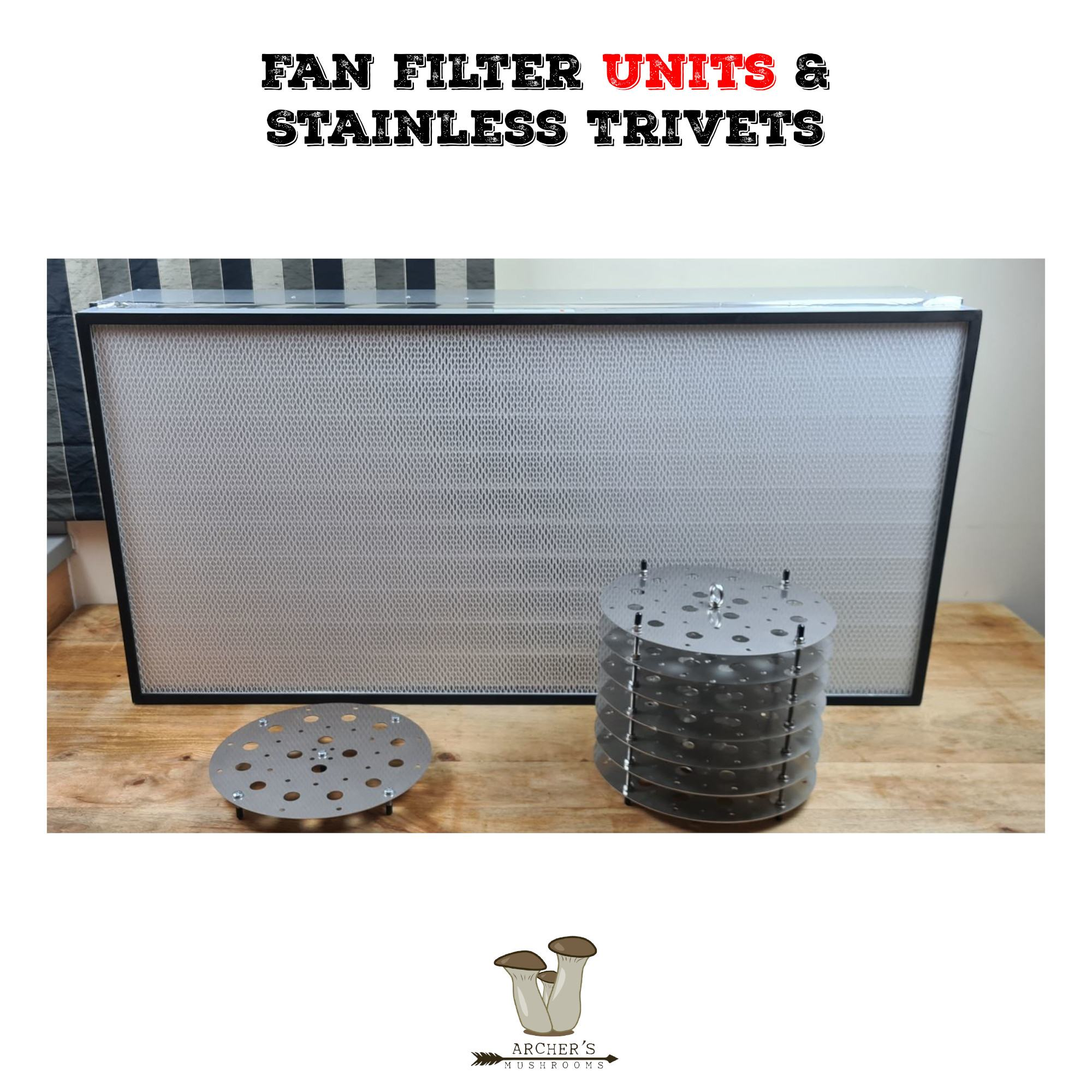 FFU's In The UK | Fan Filter Units | Pressure Cooker Trivets | Mushroom Growing | Mushroom Blogs | Mushroom Growing | Mushroom Tips | Mushroom Business